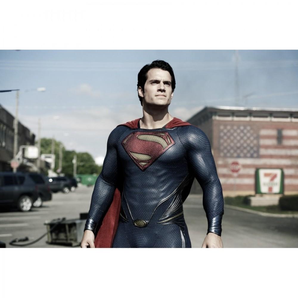 Superman Design Man of Steel (2013) Cosplay Costume
