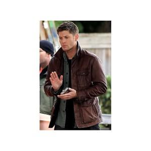 Supernatural Season 7 Dean Winchester Brown Jacket