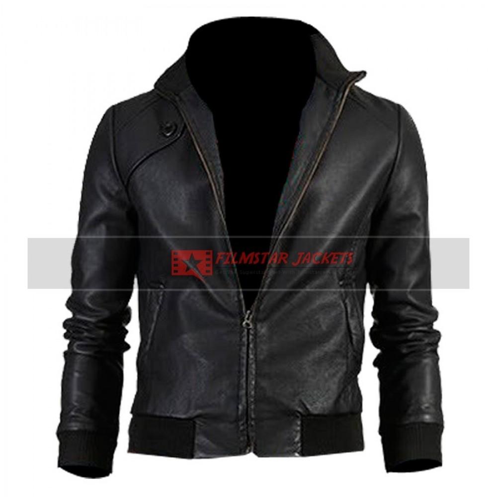 Trendy Vintage Slim-fit Bomber Jacket