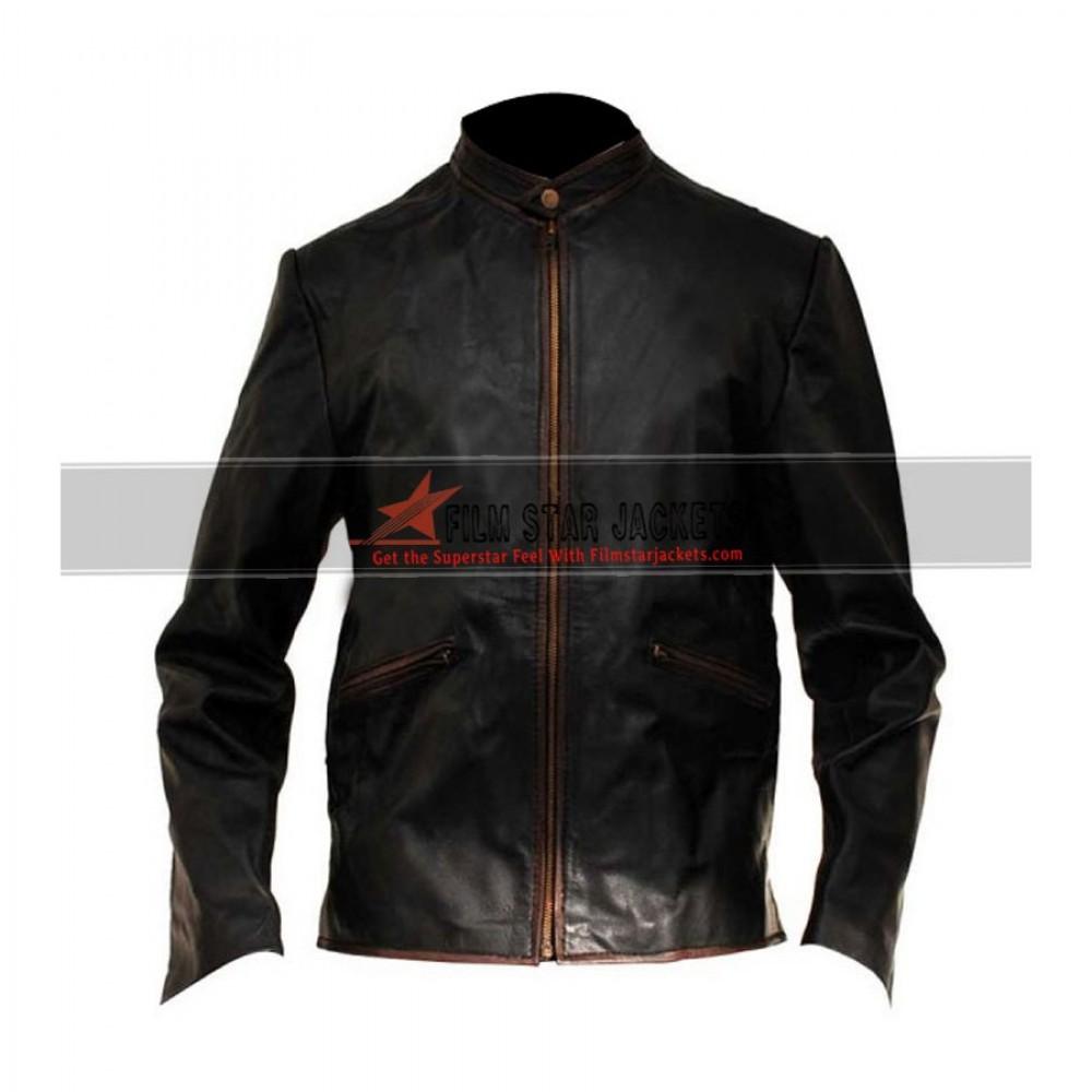 Tron Legacy Sam Flynn (Garrett Hedlund) Biker Jacket