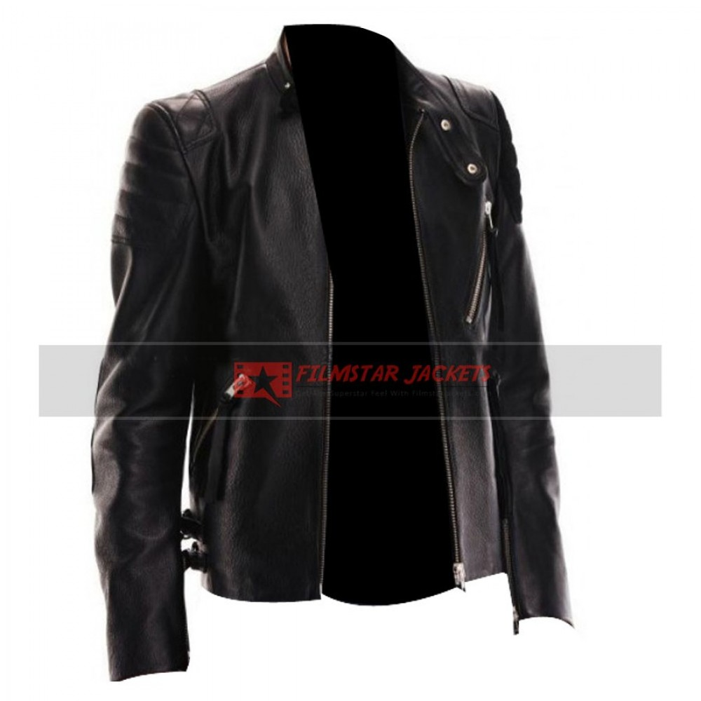 True Blood Alexander Skarsgard Black Jacket