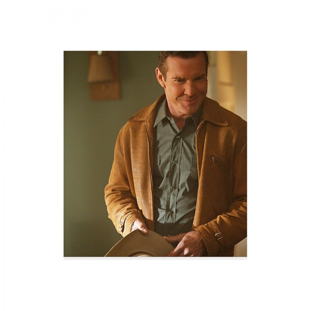 Vegas: Dennis Quaid (Ralph Lamb) Brown Jacket