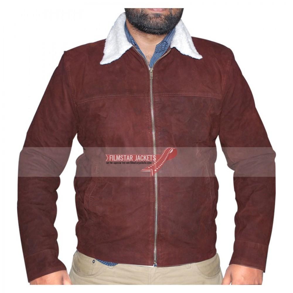 Rick Grimes Walking Dead Season 4/5 Fur Collar Jacket