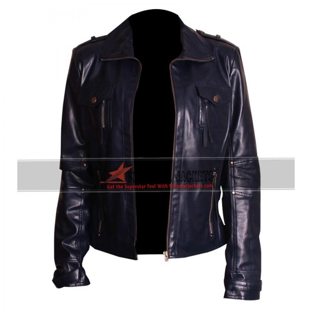 Women's Navy Blue Jacket