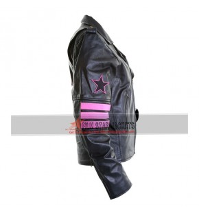 Replica WWE Bret The Hitman Hart Leather Jacket