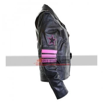 Replica WWE Bret The Hitman Hart Leather Jacket