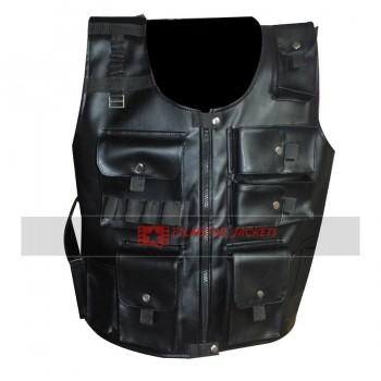 WWE Roman Reigns UTG Faux Leather Vest